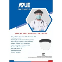 Covid Protective Avue Face Shield