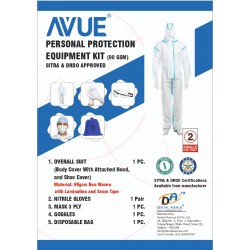 Covid Protective White PPE Kit - 90 GSM